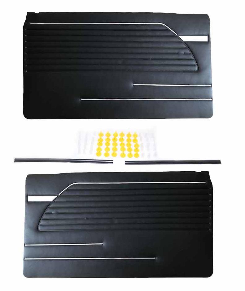 Bmw 2002 Door Panels Black L R Up To 1973 Viomont Com